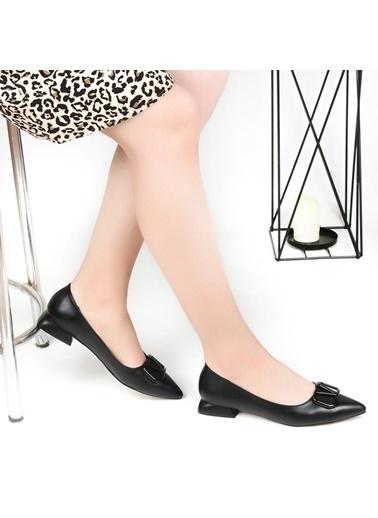 Pandora Ka4122 Ortapedik Siyah Bayan Günlük Babet Ayakkabı Bej